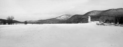 G Forss  Farm Field in Snow best small file