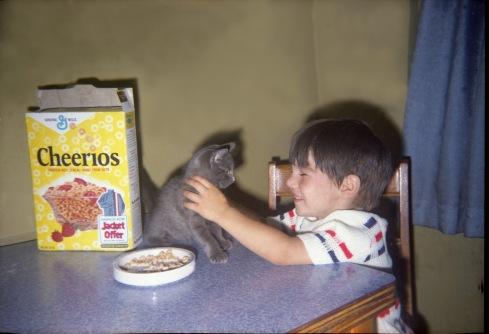 Norma Forss - Breakfast with Kitten001