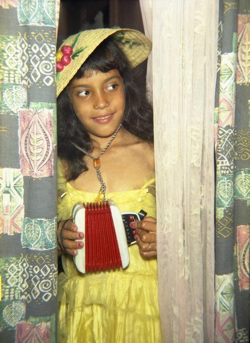 Norma Forss - Senorita plays the accordian001
