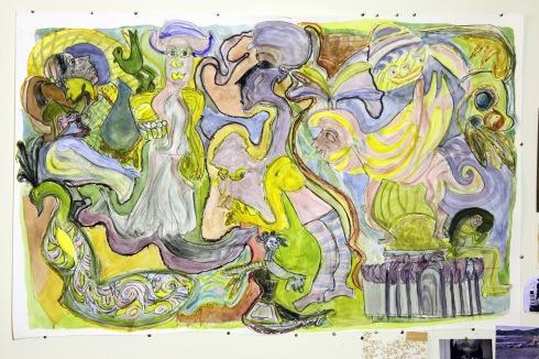 G Forss Donna's Mural  Pandora's Box