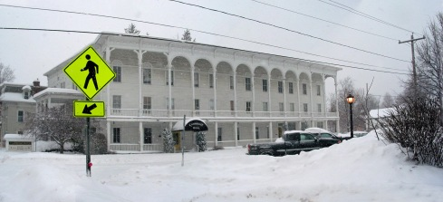 Cambridge Hotel ( there is Hope ) in Winter  2014