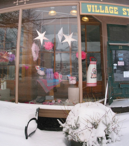 Hubbard Hall store in winter 2014