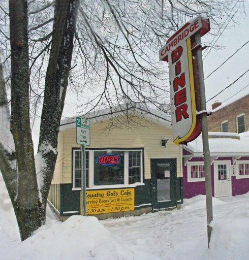 Country Gal's Cafe in Winter 2014