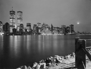 G Forss Manhattan from Liberty Island 1988