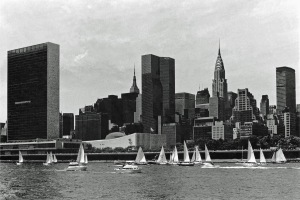 G Forss Sailboat regatta in 1977