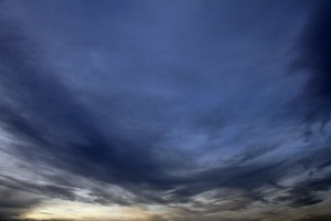G Forss  Evening sky over Plum Island ocean small file