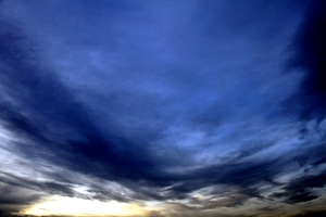 G Forss  Evening sky over Plum Island ocean P small file