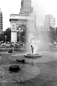 8  G Forss Wash Sq fountain 1977
