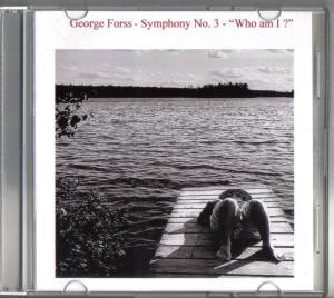 G Forss  CD Cover for G Forss Symphony No. 3