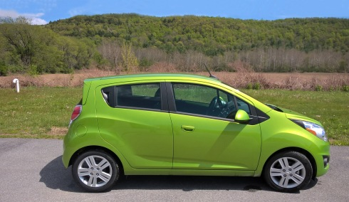 G Forss Pam's Chevy Spark in Farm field scene copy