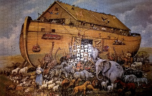 G Forss The puzzle about Noah's Ark small file