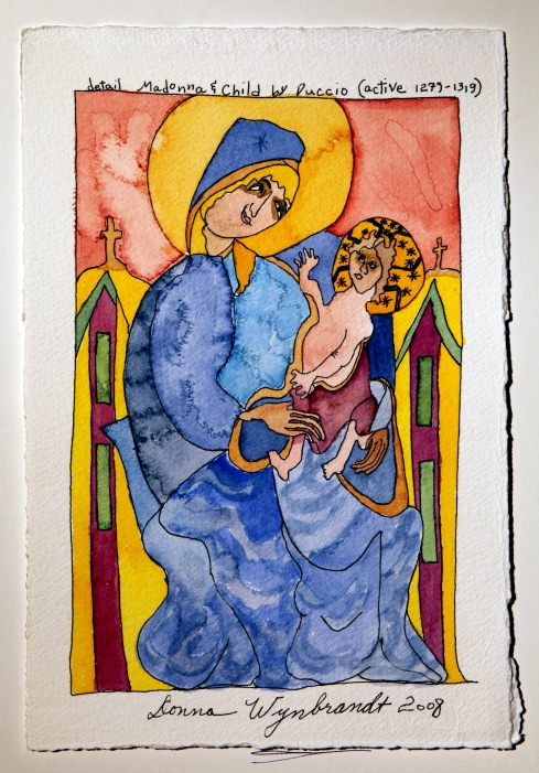 DHW Modonna and Child Duccio active 1299-1319 small file