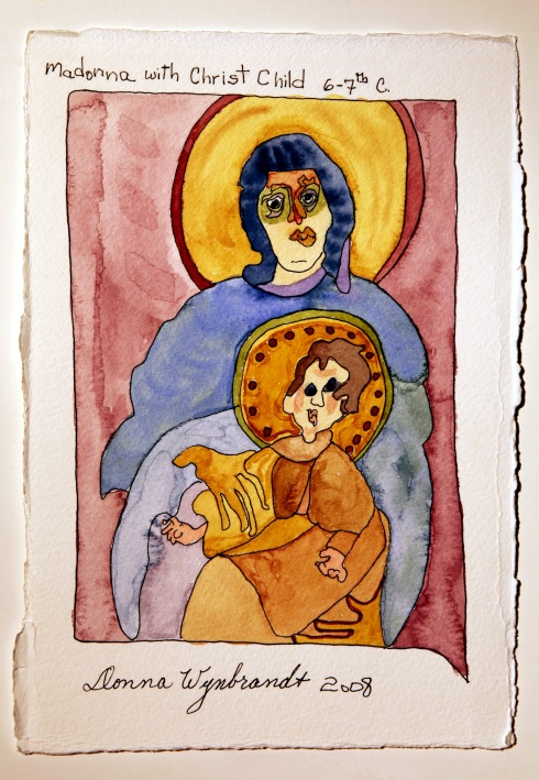 DHW Modonna with Christ Child 6-7th C small file