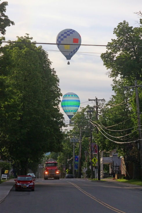 G Forss Balloons over Main Street small file