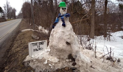 G Forss Snowman The End is Here ! small file
