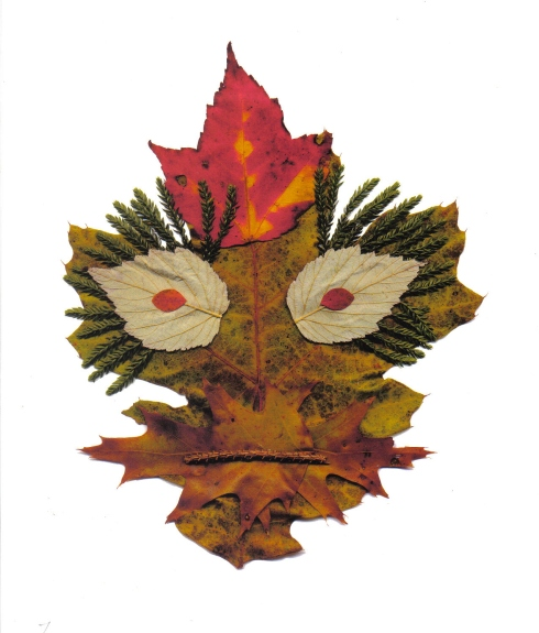 G Forss Leaf Creature No.7